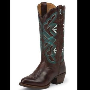 NEW Tony Lama Teran Brown Cowboy boot
